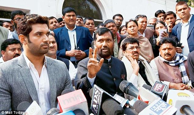 Ram Vilas Paswan led Lok Janshakti Party, nda, modi, bjp