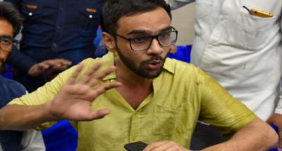 umar khalid shot at new delhi