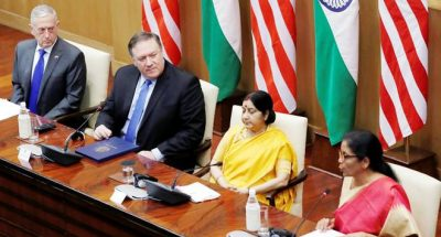 The defence pact, between India-US,