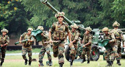 भारतीय सेना के जवानों