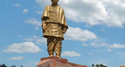 vallabhbhai's statue of unity