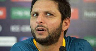 क्रिकेटर शाहिद अफरीदी काबड़ा बयान