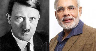 मोदी को हिटलर