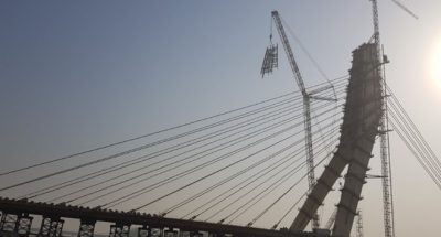new Signature Bridge, Delhi
