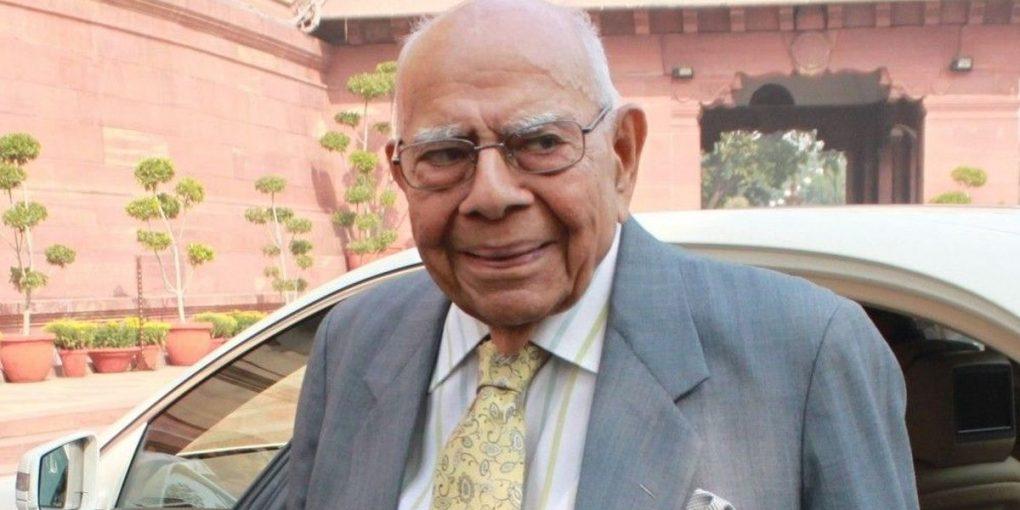 Eminent lawyer Ram Jethmalani