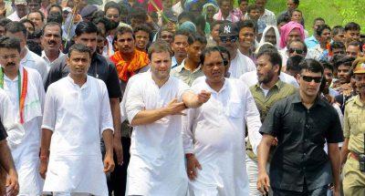 किसान आंदोलन में राहुल गांधी