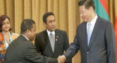 मालदीव में भारत के बढ़ते कदम से बौखलाया चीन
